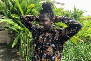Keem Love Black, une femme transgenre ougandaise, dirige Trans Positive Uganda, une organisation communautaire qui s'occupe des travailleuses du sexe transgenres et des réfugiées vivant avec le VIH.