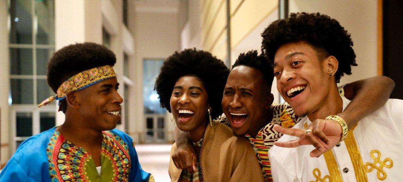 يتم الاحتفال باليوم الدولي للمنحدرين من أصل أفريقي لأول مرة في 31 آب/أغسطس 2021.