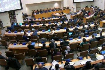 联大第三委员会同会员国进行了互动式对话。