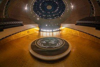 大会堂的详细视图。