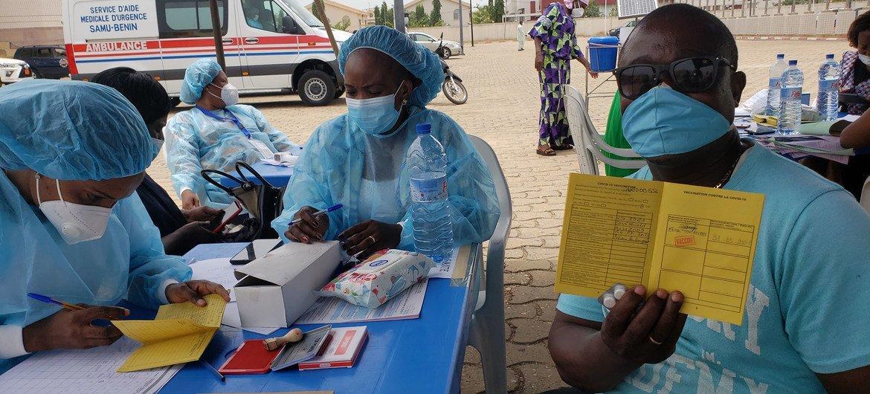 Au Bénin, la campagne nationale de vaccination contre la Covid-19 a débuté    ONU Info