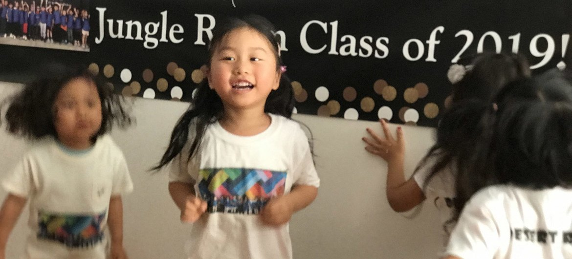 Dancing is an important element is early education. During the COVID-19 pandemic, it is impossible to have in-person class like this.