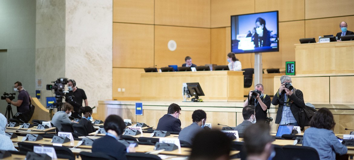 The 43rd session of the Human Rights Council. 15 June 2020.