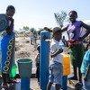 Le camp de Mutua, dans la province de Sofala, accueille des personnes déplacées par le cyclone Idai