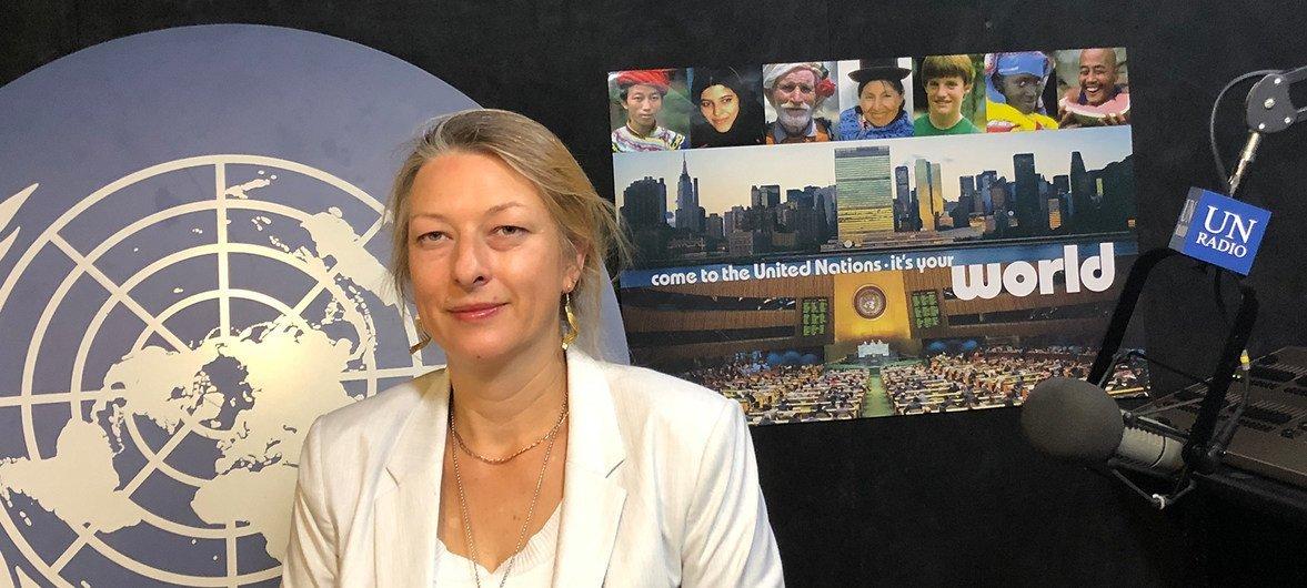 Специальный докладчик ООН по ситуации с правами человека в Беларуси Анаис Марэн