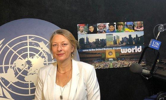 Especialista em direitos humanos da ONU Anais Marin
