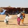 最近从埃塞俄比亚提格雷抵达苏丹的难民带来了物资,帮助他们在苏丹的难民营建立避难所。