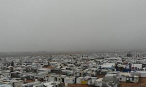 مشهد عام لمخيم الزعتري شمالي الأردن
