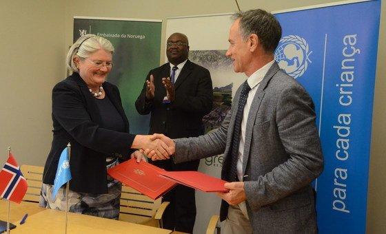 Embaixadora da Noruega em Moçambique e representante do Unicef no país