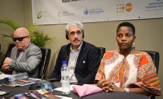 Participantes da Conferência organizada pela Unesco. Entre 20 mil e 30 mil pessoas vivem com albinismo em Moçambique