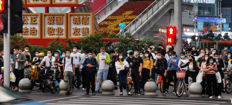 深圳华强北中国电子第一街
