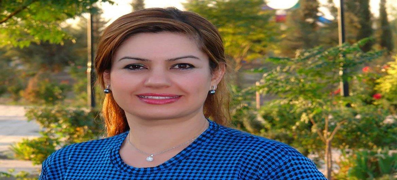 Джамиля Махди, сотрудница Миссии ООН в Ираке.