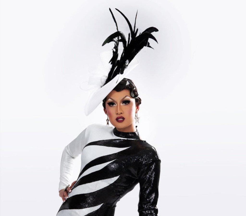 Photo of drag performer, social media star, and mathematics communicator Kyne
