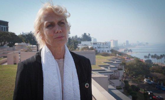 Coordenadora residente da ONU em Moçambique, Myrta Kaulard,