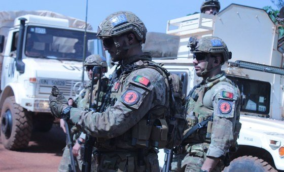 Militares portugueses na Minusca