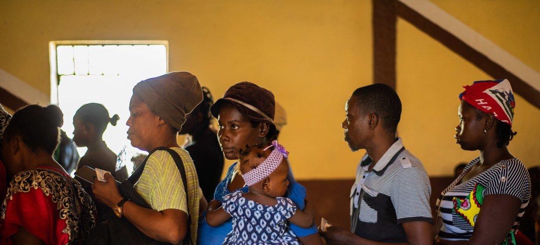 En 2019, le PAM a apporté une aide alimentaire d'urgence à plus de 150.000 personnes en Haïti, souvent leur fournissant des transferts monétaires pour leur donner le choix de répondre à leurs besoins essentiels tout en contribuant à stimuler les marchés locaux.