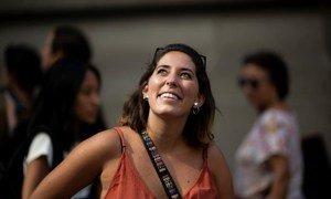 Paloma Costa Oliveira é estudante de Direito e defensora de direitos humanos. Ela coordenou delegações jovens em várias conferências climáticas.