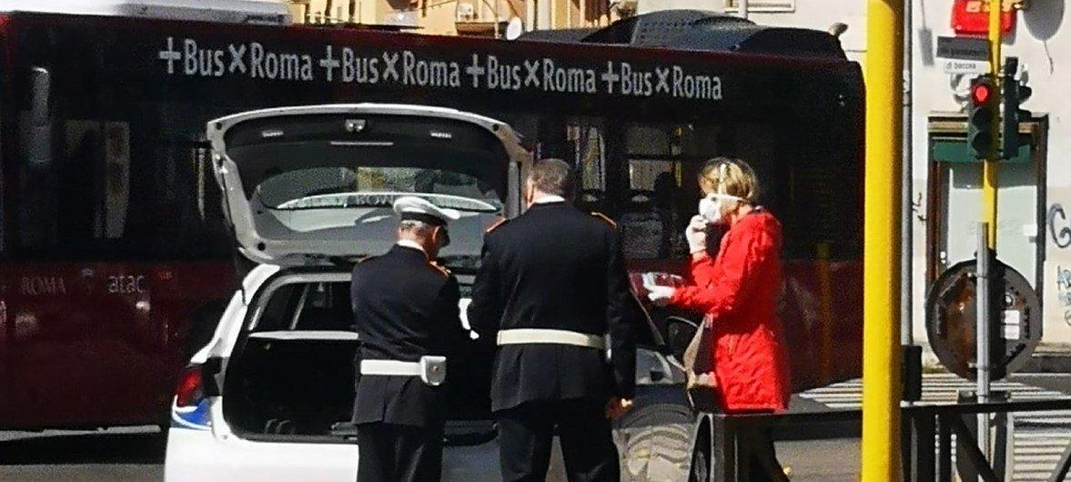 Рим на карантине