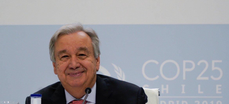 Генеральный секретарь ООН в Мадриде: мы движемся к точке невозврата, но с этого пути еще можно свернуть.