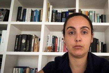 Encarregada pelo escritório da OIM em Lisboa, Sofia Cruz, em entrevista à ONU News