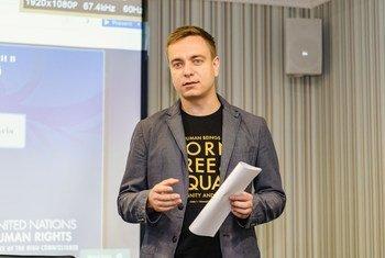 Сергей Курносенко, сотрудник Мониторинговой миссии ООН по правам человека в Украине.