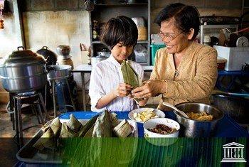 La culture et l'alimentation préservent notre héritage.