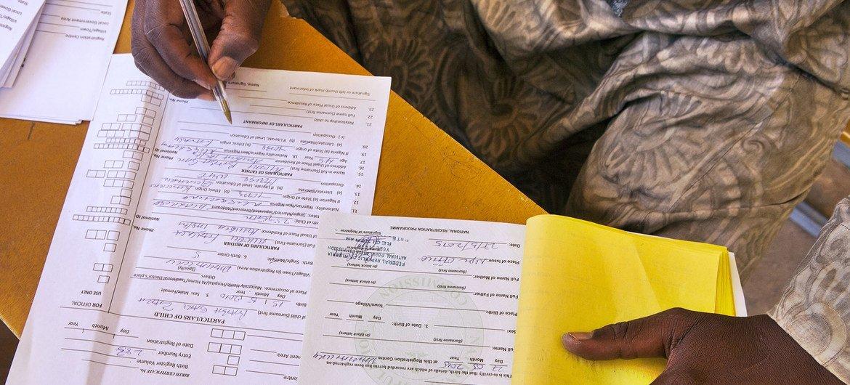 17 млн нигерийских детей в возраст до пяти лет не зарегистрированы