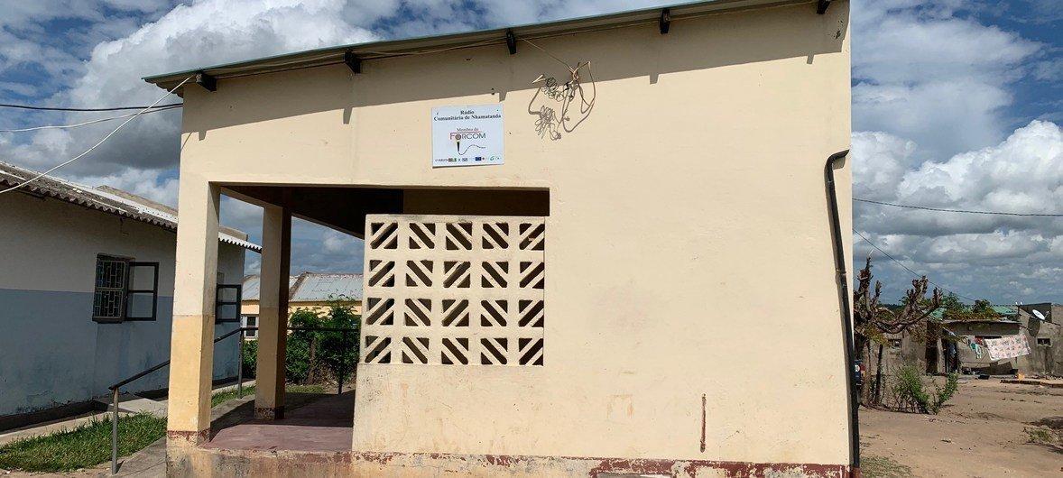 A Rádio Nhamatanda foi uma das rádios comunitárias que transmitiram mensagens de prevenção antes do ciclone