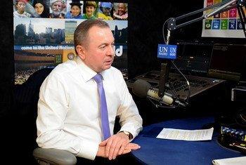 """Министр иностранных дел Республики Беларусь предупреждает о нависшем """"призраке"""" новой мировой войны."""