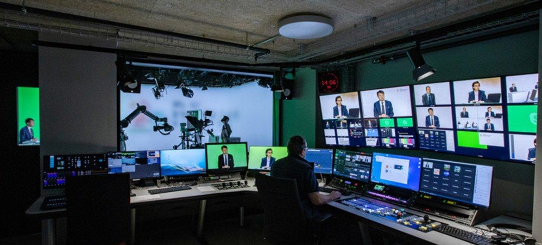 Dans les coulisses de la conférence de presse virtuelle de l'OMPI pour le lancement du rapport sur les indicateurs mondiaux de propriété intellectuelle 2020.