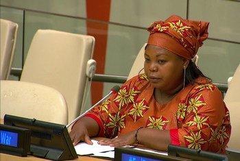 Tatiana Mukanire est la Coordinatrice du Mouvement national des survivantes de violences sexuelles en RDC.   Elle a demandé aux États membres de tenir les promesses qui ont été faites en faveur des victimes de violences sexuelles afin qu'elles puissent reconstruire leur vie.