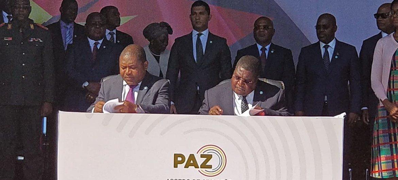 Processo de desmobilização e integraçãode ex-combatentesfaz parte da implementação do novoAcordo dePaz