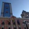 बोलीविया में, ला पेज़ में, संसद और सरकार से सम्बन्धित इमारतें.