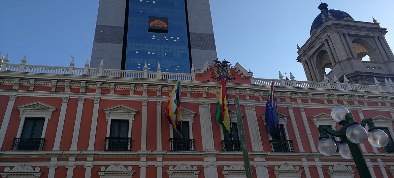 Palácio do Governo em La Paz, na Bolívia