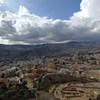 玻利维亚拉巴斯南部俯瞰图。