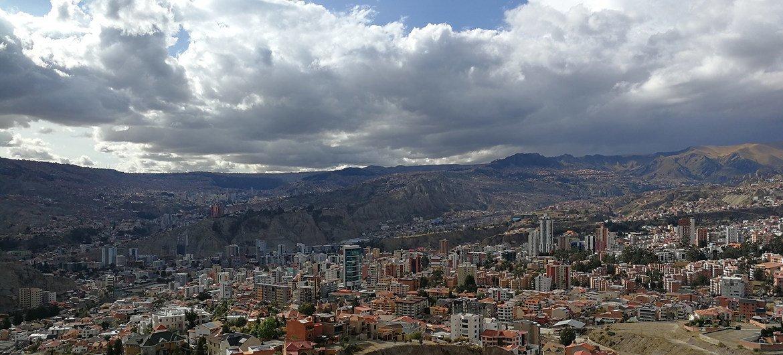 Imagen del sur de La Paz, en Bolivia