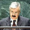 Le Ministre des affaires étrangères iraqien Naji Sabri