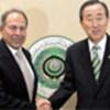 Emile Lahoud<br>y Ban Ki-moon
