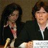 Louise Arbour, representante especial de la ONU para la migración internacional. Foto de archivo: ONU/Patrick Bertschmann