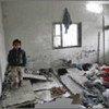 L'opération militaire aérienne d'Israël à Gaza a causé de nombreuses destructions.