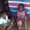 Des enfants sri lankais dans un camp de déplacés à Vavuniya, au Sri Lanka.