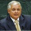 Le Président de Pologne, Lech Kaczynski, décédé dans un accident d'avion.