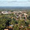 Une vue aérienne de Beni, dans l'extrême nord de la province du Nord Kivu en RDC.