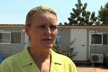 La Coordonnatrice humanitaire de l'ONU pour le Soudan du Sud, Lise Grande.