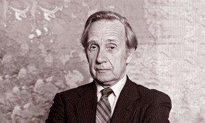 Brian Urquhart, former Under-Secretary-General for Political Affairs.