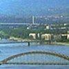 Danube River in Yugoslavia