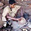 Jeune fille en Ethiopie