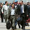 Security Council delegation arriving in Pristina