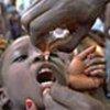 Vaccination d'enfants contre la polio