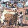 Le camp de Squalid Jalozai au Pakistan
